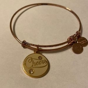 ALEX AND ANI CHEERS ROSE GOLD BRACELET 2016